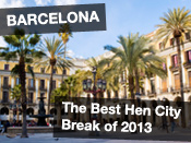 The Best Hen City Break of 2013