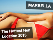 The Hottest hen location 2013