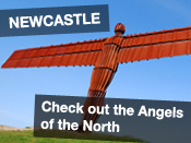 check out the Angels of the North from £55pp